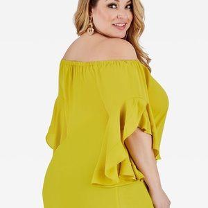 Ashley Stewart Off Shoulder Top NWT Size 22/24